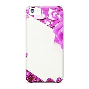 Premium Protective Hard Cases For Iphone 5c- Nice Design - Violet Rose
