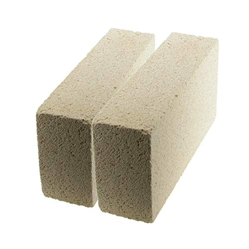 (WireJewelry Medium Duty Insulating Fire Brick, Rated Up to 2300 Degree Fahrenheit - 2 Pack )