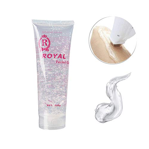 300g Facial Whitening Gel Cream Cooling Gel Cream for Beauty RF Device Body Hair Removal Device - Conductive Gel Cream for Acupuncture Pen Meridians Laser Therapy Massage Device (Laser Hair Removal Gel)