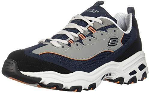 Skechers Men´s, D'Lites, Sneakers, Navy/Orange, 11 US ()