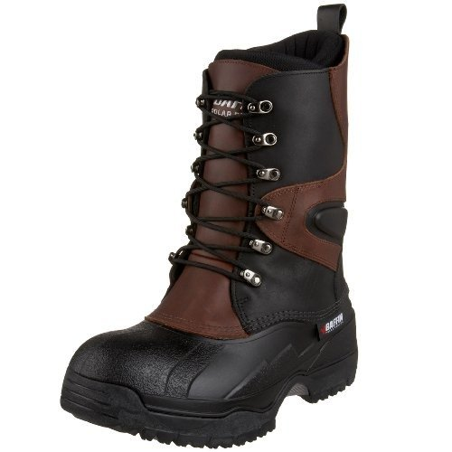 Baffin Men's Apex Snow Boot,Black/Bark,9 M US