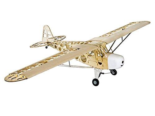 Toy, Play, Fun, Piper J-3 Cub Balsa Wood RC Airplane Laser Cut Kit 1800mm (70