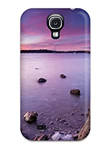Brandy K. Fountain's Shop Hot Scratch-free Phone Case For Galaxy S4- Retail Packaging - Half Moon Bay Marina 3108361K78399844
