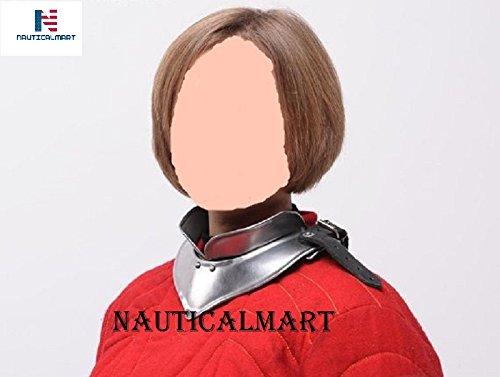 NAUTICALMART Larp, Female Armor,Fantasy, Elven Costume steel armor for women: gorget by NAUTICALMART