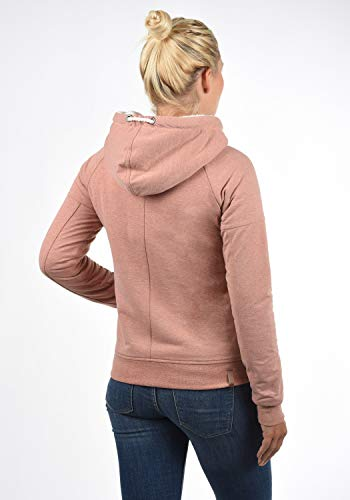 Pull Mandy Poudre Capuche Desires Court Sweat p5178m À Rose Femme aOxwwUpCq