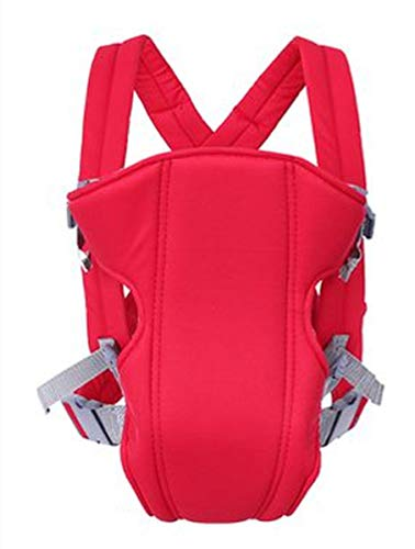 Baby Carrier 3-in-1 Hip Seat Baby Carrier Soft & Breathable Baby Carriers Backpack,All Positions Front and Back for Newborn& Infants to Toddlers Baby (Red)