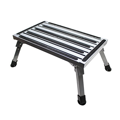 Quick Products QP-ASS101 Folding Aluminum Platform, used for sale  Delivered anywhere in USA