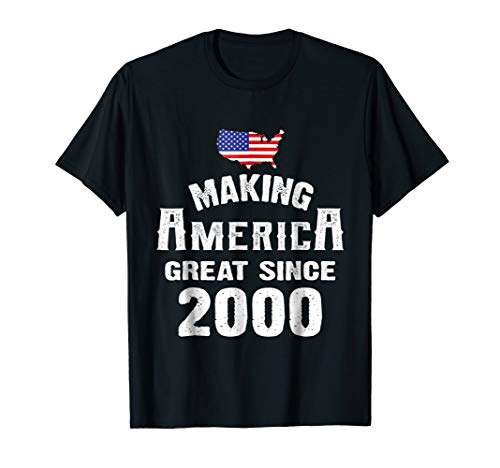 Make America Great Since 2000 18th Year Old 18 Birthday Gift ()