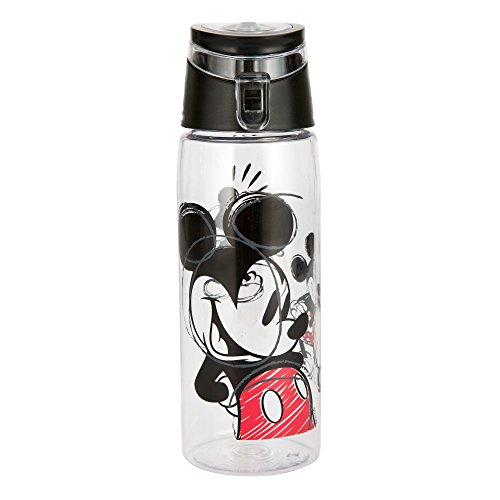 Delicieux Zak Designs Mickey U0026 Minnie Mouse 25 Oz. Wide Mouth Water Bottle, Mickey  Mouse