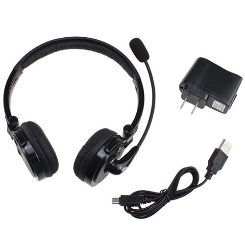 70OFF AGPtekR 2 In 1 Stereo Handsfree Headset Boom Mic Noise Canceling Wireless