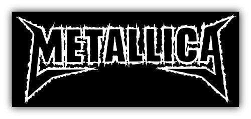 - Metallica Car Bumper Sticker Decal 6'' x 3''