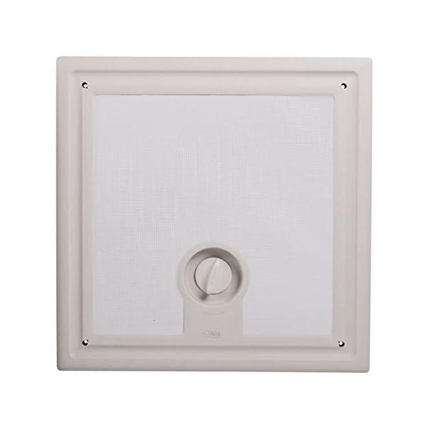 417kobevNlL Fiamma Dachfenster Vent 40x40 cm Weiß + Dekalin Dichmittel + Schrauben für Wohnwagen oder Wohnmobil