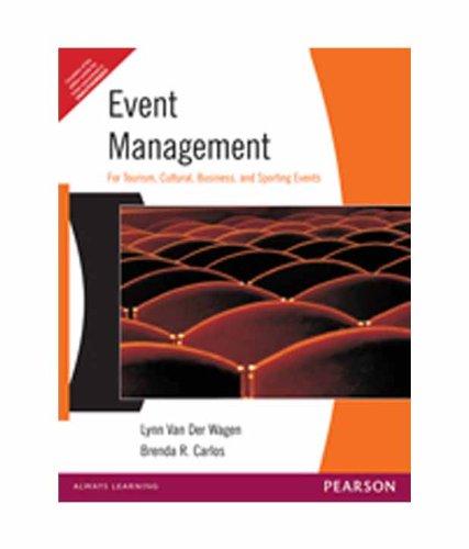 Event Management, 1/e