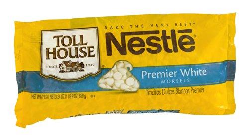 Nestle Toll House Premier White Morsels 24 OZ (Pack of 24)