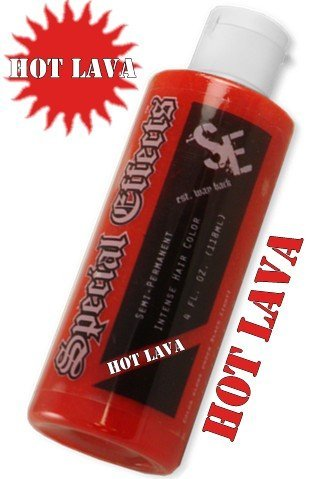 (Special Effects Hair Dye -Hot Lava)
