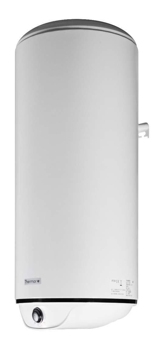 Calentador de Agua Vertical Thermor Groupe Atlantic Termo Electrico 100 litros Aislamiento de alta densidad Serie Square Connect Instantaneo