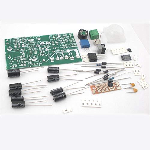 Refaxi El Sensor Infrarrojo Piroeléctrico De DIY Equipa La Tecnología Electrónica del Circuito Antirrobo: Amazon.es: Electrónica