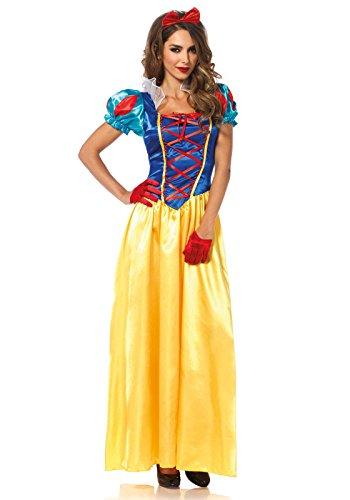 Leg Avenue Women's Classic Snow White Halloween Costume, Multi X-Large -
