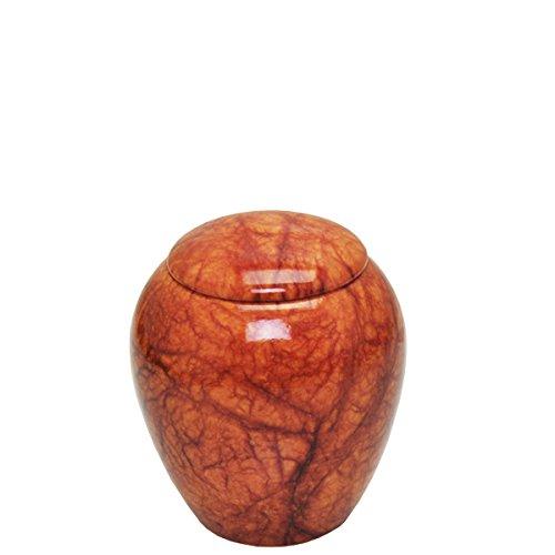Alabaster Stone Cremation Urn Keepsake Size-Valor (Alabaster Urn compare prices)