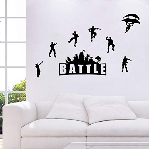 ELion Fortnite Wall Decor Peel & Stick Poster Decals 21x15 Inch by ELion (Image #3)