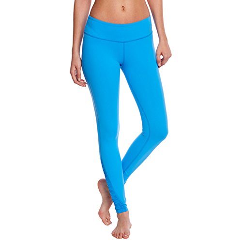 Beyond Yoga Womens Down The Line Legging Tidal Blue Small - Pants Mulberry Line