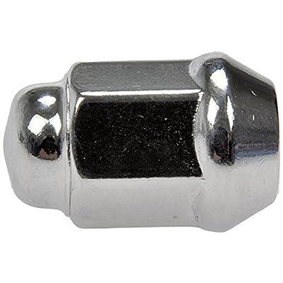 Dorman 611-122 Wheel Lug Nut for Select Models, Pack of 10 (OE FIX): Automotive