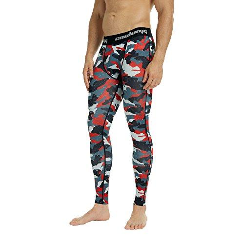 Review COOLOMG Men's Compression Pants