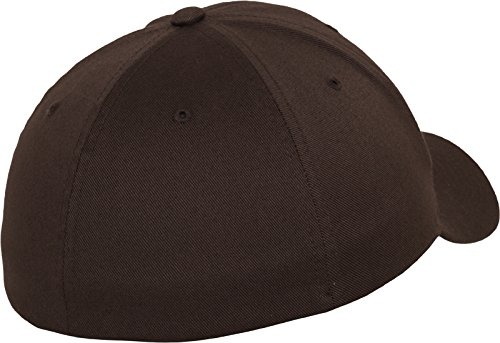 Marron 6277 Adulte Combed Wooly brown Flexit Mixte Casquette EYw16xxq7