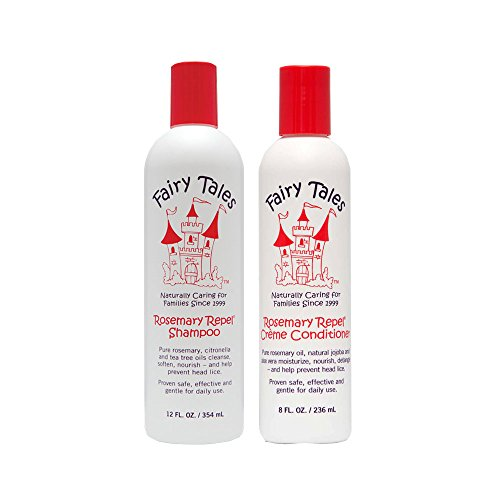 Fairy Tales Rosemary Repel Creme 12 oz Shampooing + 8 oz Conditioner (Combo Deal)
