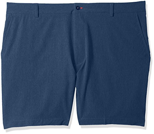 IZOD Mens Big and Tall Advantage Performance Hybrid Short