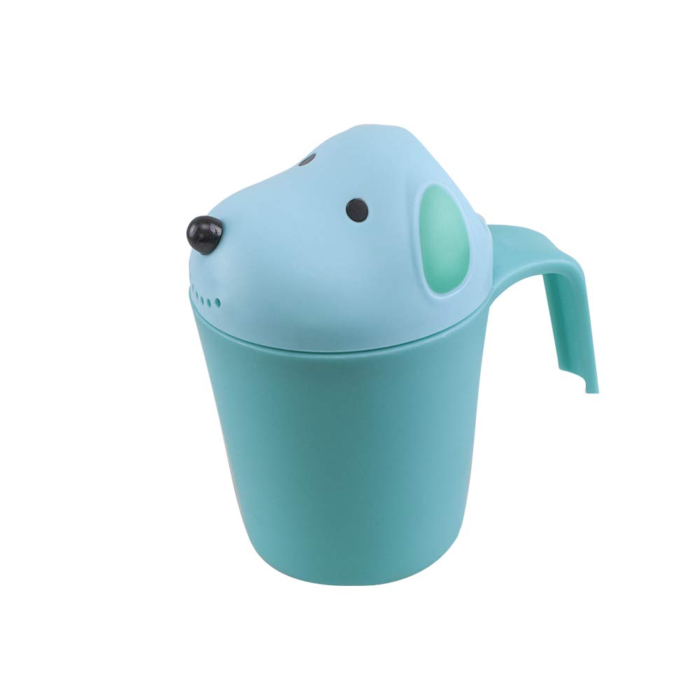Topwon Baby Dippers Bath Rinse Cup Baby Bath Cup Shower Spoon
