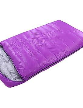 Saco de dormir doble amplia bolsa doble -10? plumón de pato, 1800 g