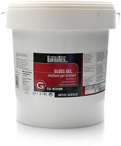 Liquitex Acrylic Gloss Gel Medium (Gallon) 1 pcs sku# 1841708MA by Liquitex