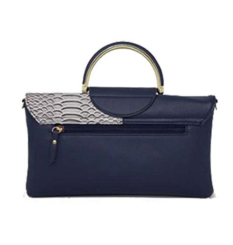 femme Silver Pochette pour moyen Hautefordiva Bleu 8E7qw7