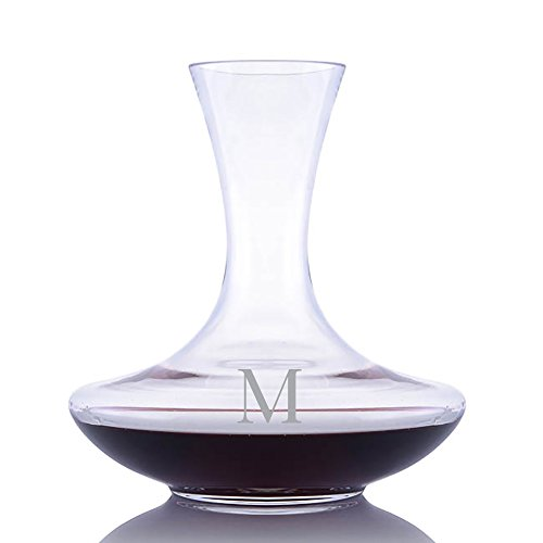 Personalized Waterford Vintage Sommeliers Crystal Wine Carafe Engraved & Monogrammed - Great Housewarming or Wedding Gift - Great Holiday & Christmas ()