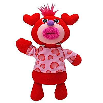 SingAMaJigs Plush Doll Valentines Day Figure RED with Hearts Shirt Let Me Call You Sweetheart: Toys & Games
