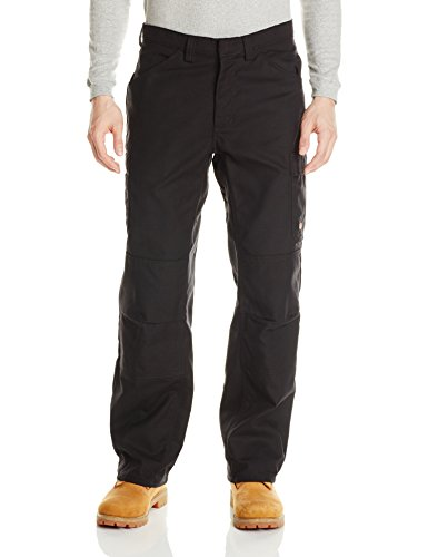 Red Kap Men's Shop Pant, Black, 46W x 32L