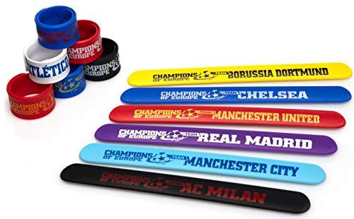 Champions League Slap Bracelets & Drawstring -