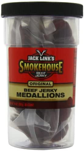 Jerky & Dried Meats: Jack Link's Medallions