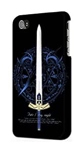 S0616 Fate Stay Night Excalibur Case Cover for IPHONE 5C
