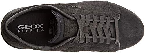 Jeans U Anthracite Keilan Herren Blau Geox D C4n9a Dk Sneaker Aq0n68