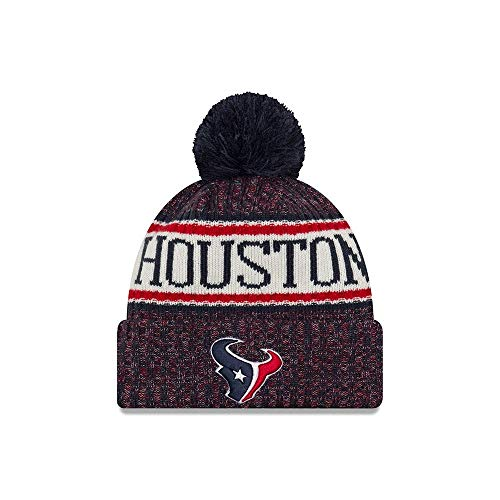 New Era Houston Texans NFL On Field 18 Sport Knit Beanie - Houston Texans Hat