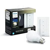 Philips Hue Smart Dimming Kit, No Hub Required &...