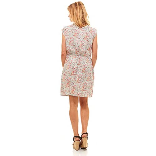ff4411c020 on sale Red Hanger Womens Summer Dress - Floral Solid Casual Midi Dresses  for Women with