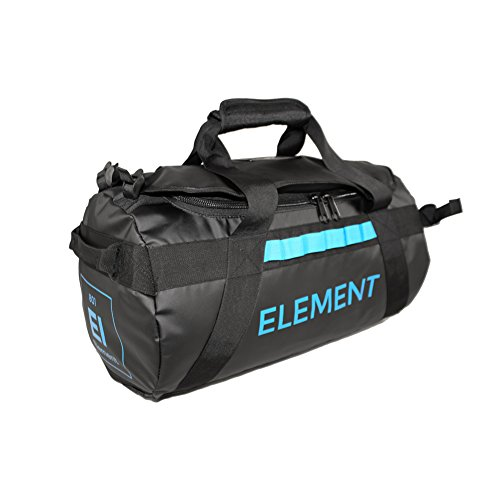 Equipment Travel Bag - Element Equipment Trailhead Duffel Bag Shoulder Straps Waterproof Black Medium