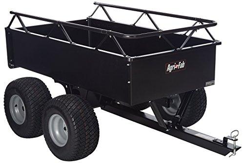 - Agri-Fab 1000-Pound Heavy Duty Steel ATV Tow Tandem Axle Cart  45-0350