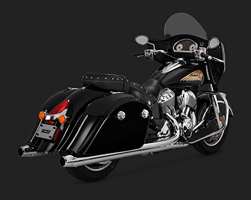 "Vance & Hines 16 Indian CHIEFTAINDKH Classic Slip-On Exhaust (Chrome / 4"")"