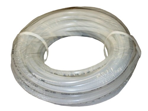 ATP Value-Tube LDPE Plastic Tubing, Natural, 1/8' ID x 1/4' OD, 100 feet Length