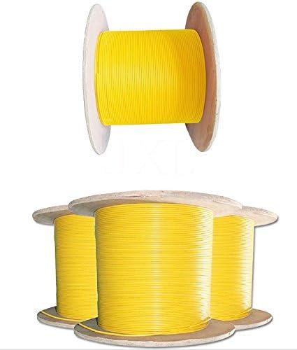 1km OS1 Duplex Indoor Singlemode Fiber Optic Cable With PVC Jacket