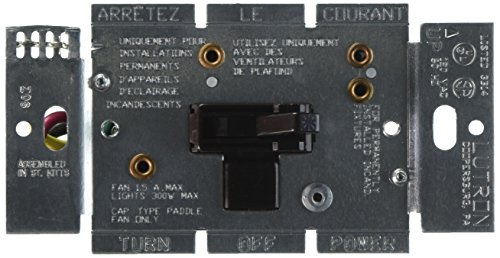 ontrol and Light Dimmer for Halogen and Incandescent Bulbs, AY2-LFSQ-BR, Brown ()